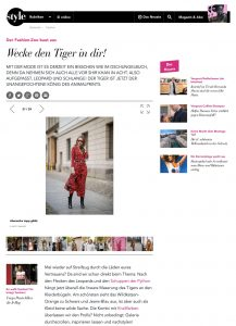Der Fashion Zoo baut aus - Wecke den Tiger in dir - style-magazin Swiss - 2019 02 18 - Alexandra Lapp - found on https://style-magazin.ch/fashion/wecke-den-tiger-dir