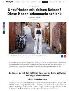 Dicke Beine - Diese Hosen machen schlank - InStyle - instyle.de - 2018 12 22 - Alexandra Lapp - found on https://www.instyle.de/fashion/schlanke-beine-hosen