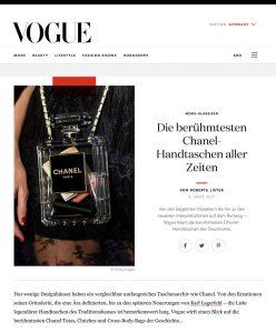 Die berühmtesten Chanel Handtaschen aller Zeiten - Vogue Germany online - 2019 03 08 - Alexandra Lapp - found on https://www.vogue.de/mode/artikel/beruehmte-chanel-handtaschen