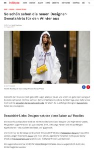 Die neuen Designer Sweatshirts für den Winter - InStyle - 2017 08 - Alexandra Lapp - found on http://www.instyle.de/fashion/designer-sweatshirts-herbst-winter-trend-2017