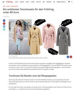 Die schönsten Trenchcoats unter 60 Euro - InStyle - 2018 03 06 - Alexandra Lapp - found on http://www.instyle.de/fashion/trenchcoat-guenstig-shoppen