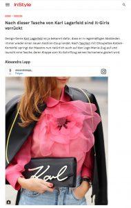 Diese Karl Lagerfeld Tasche tragen gerade alle It-Girls - InStyle - 2017-03 - Alexandra Lapp - found on http://www.instyle.de/fashion/tasche-karl-lagerfeld-signature-bag
