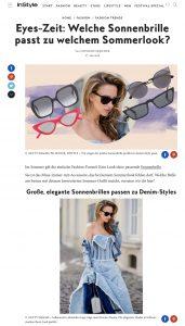 Diese Sonnenbrillen passen zu deinem Sommer Lieblingslook - InStyle de - 2018 05 27 - Alexandra Lapp - found on http://www.instyle.de/fashion/sonnenbrille-sommer-outfit