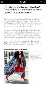 Du willst dir ein Luxusteil kaufen - Hier die Top 5 Items - Stylight - stylight.de- 2019 09 02 - Alexandra Lapp - found on https://www.stylight.de/Magazine/Fashion/Fashion-Investment-Luxusteil/