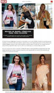 El bolso de mano para toda ocasion - us.hola.com/es - 2019 07 18 - Alexandra Lapp - found on https://us.hola.com/es/moda/2019071825818/fashion-trends-clutch-vv/