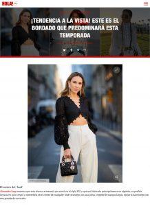 El bordado que estar presente en todas las prendas Foto 2 - us.hola.com/es - 2019 06 27 - Alexandra Lapp - found on https://us.hola.com/es/moda/galeria/2019062724566/fashion-trends-bordado-ingles-vv/2/