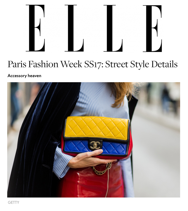 Alexandra Lapp Street Style at Paris Fashion Week 2016 - Photo by Christian Vierig - Found on www.http://elle.com.