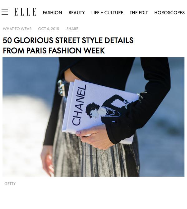 Alexandra Lapp Street Style at Paris Fashion Week 2016 - Photo by Christian Vierig - Found on www.http://elle.com