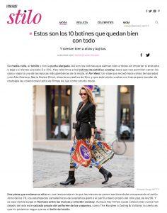 Estos son los 10 botines que quedan bien con todo - Stilo Spain - 2018 10 14 - Alexandra Lapp - found on https://www.stilo.es/moda/botines-cowboy-compras?foto=2#galeria-38594-2203651+