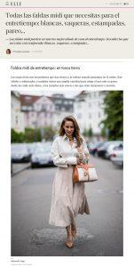 Faldas midi para el entretiempo blancas vaqueras estampadas - Elle Spain Online - elle.com/es - 2020 09 07 - Alexandra Lapp - found on https://www.elle.com/es/star-style/el-estilo-de/a33911615/falda-midi-entretiempo-otono-blanca-vaquera-estampada-pareo/#