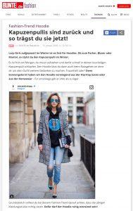 Fashion Trend Hoodie - Kapuzenpullis sind zurück und so trägst du sie jetzt - BUNTE de - 2018 01 15 - Alexandra Lapp - found on https://www.bunte.de/fashion/kleidungsstuecke/oberteile/pullover/fashion-trend-hoodie-kapuzenpullis-sind-zurueck-und-so-traegst-du-sie-jetzt.html