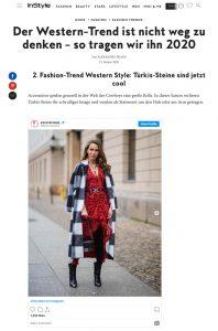 Fashion Trend Western Style - So tragen wir ihn 2020 - instyle.de - 2020 01 21 - Alexandra Lapp - found on https://www.instyle.de/fashion/fashion-trend-western-style-2020