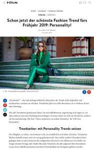 Fashion-Trend fürs Frühjahr 2019 - inStyle.de - 2019 01 04 - Alexandra Lapp - found on https://www.instyle.de/fashion/trend-fruehjahr-2019-personality