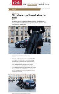 Fashion Week Diary - Mit Influencerin Alexandra Lapp in Paris - GALA Germany - 2017 11 - Alexandra Lapp - found on https://www.gala.de/beauty-fashion/pariser-chic/mit-influencerin-alexandra-lapp-in-paris-21467272.html