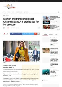 Fashion and travel blogger Alexandra Lapp 44 credits age for her success - Latest US and World News Sport and Comment - Breaking stories updates - usmorning.net - 2019 11 06 - Alexnadra Lapp - found on http://usmorning.net/lifestyle/fashion-and-travel-blogger-alexandra-lapp-44-credits-age-for-her-success/