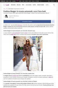 Fashion blogger in tenuta autunnale - ecco i loro look - DiLei Italy - 2018 10 22 - Alexandra Lapp - found on https://dilei.it/moda/fashion-blogger-in-tenuta-autunnale-ecco-i-loro-look/567470/
