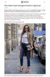 Fem måter å style sesongens hotteste t-skjorte på - MinMote-no - NORGES STØRSTE MOTESIDE - 2017-03 - Alexandra Lapp - found on http://www.minmote.no/#!/artikkel/23912567/fem-maater-aa-style-sesongens-hotteste-t-skjorte-paa