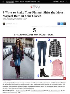 Flannel Outfit Ideas - How to Wear Flannel - marieclaire com - 2018 08 24 - Alexandra- Lapp - found on https://www.marieclaire.com/fashion/g22798875/flannel-outfits/