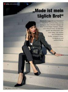 Forum Germany - 2020 02 07 - page 56 - Mode ist mein täglich Brot - Alexandra Lapp