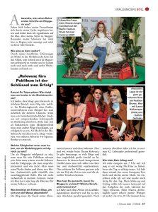 Forum Germany - 2020 02 07 - page 57 - Mode ist mein täglich Brot - Alexandra Lapp