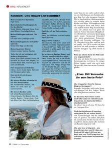 Forum Germany - 2020 02 07 - page 58 - Mode ist mein täglich Brot - Alexandra Lapp