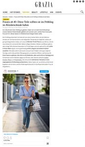 Frauen ab 40: Diese Teile sollten sie im Frühling im Kleiderschrank haben - Grazia Magazin Germany online- grazia-magazin.de - 2020 04 14 - Alexandra Lapp - found on https://www.grazia-magazin.de/fashion/frauen-ab-40-diese-teile-sollten-sie-im-fruehling-im-kleiderschrank-haben-45666.html