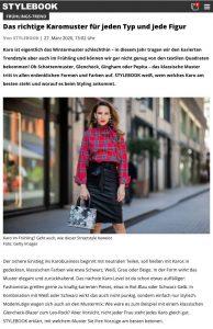 Frühlingstrend Karo - Welches Muster zu welcher Figur passt - STYLEBOOK Germany online - stylebook.de - 2020 03 28 - Alexandra Lapp - found on https://www.msn.com/de-de/lifestyle/lifestylestyleandbeauty/shopping-queens-aufgepasst-welches-karo-zu-welcher-figur-passt/ar-BB11NBGk