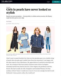 Girls in pearls have never looked so stylish - Times2 - The Times - thetimes.co.uk - 2019 06 26 - Alexandra Lapp - found on https://www.thetimes.co.uk/article/girls-in-pearls-have-never-looked-so-stylish-6c80htl3r
