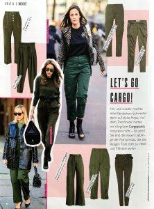 Grazia Germany - 2018 12 06 - Nr. 50 Page 66 - let's go cargo - Alexandra Lapp