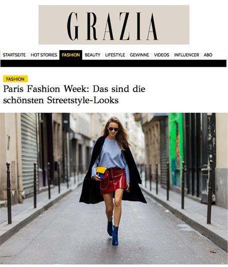 Alexandra Lapp Street Style at Paris Fashion Week 2016 - Found on http://www.grazia-magazin.de/