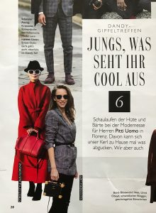 Alexandra Lapp in Grazia Magazine