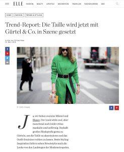 Gürtel Trend - Akzentuierte Taillen sind im Trend - ELLE-de - 2018 03 16 - Alexandra Lapp - found on http://www.elle.de/akzentuierte-taillen-trend
