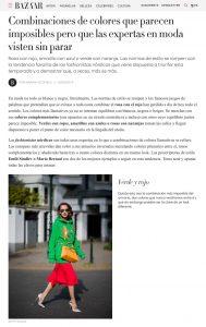 Guia de estilo para combinar colores como una experta en moda - harpersbazaar.com/es - 2019 08 12 - Alexandra Lapp - found on https://www.harpersbazaar.com/es/moda/tendencias/g28604195/como-combinar-colores-street-style-instagram-color-block/