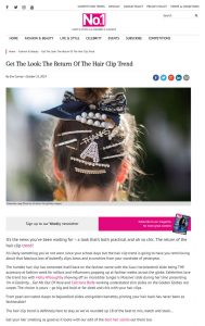 Hair Clip Trend 2019 - Hair Clasps Barrettes and Slides - No 1 Magazine - no1magazine.co.uk - 2019 10 15 - Alexandra Lapp - found on https://www.no1magazine.co.uk/2019/10/15/the-return-of-the-hair-clip/