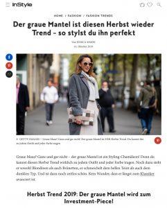Herbst Trend 2019 - Der graue Mantel wird zum Investment Piece - instyle.de - 2019 10 16 - Alexandra Lapp - found on https://www.instyle.de/fashion/herbst-trend-2019-grauer-mantel