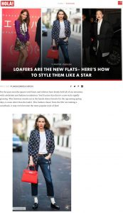 Here's how to style loafers like a celebrity - Photo 1- us.hola.com - 2020 04 08 - Alexandra Lapp - found on https://us.hola.com/fashion/gallery/20200407flxsiv1u7j/spring-trends-2020-loafers/1