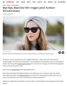 Hottest Turban Strickmützen sind der Trend im Winter 2017 - InStyle de - 2017-11-17 - Alexandra Lapp - found on http://www.instyle.de/fashion/hottest-turban-strickmuetzen-sind-der-trend-im-winter-2017