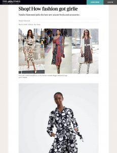 How fashion got girlie - The Times Magazine - thetimes co uk - 2019 03 02 - Alexandra Lapp - found on https://www.thetimes.co.uk/article/shop-how-fashion-got-girlie-k5w88h957