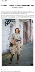 How To Tuck Baggy Pants Into Boots - Glamour - glamour.com - 2019 12 25 - Alexandra Lapp - found on https://www.glamour.com/gallery/how-to-tuck-baggy-pants-into-boots