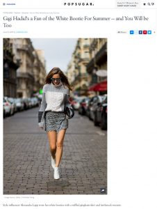 How to Wear White Boots in the Summer - POPSUGAR Fashion - 2017 06 - Alexandra Lapp - found on https://www.popsugar.com/fashion/How-Wear-White-Boots-Summer-43643259#photo-43643582