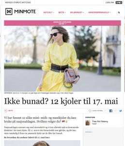 Ikke bunad - 12 kjoler til 17 mai - MinMote no - Norges storste moteside - 2017 05 Alexandra Lapp - found on http://www.minmote.no/#!/artikkel/23987409/ikke-bunad-12-kjoler-til-17-mai