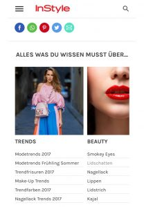 InStyle - Die neuesten Trends aus Mode Beauty und Lifestyle - 2017 04 - Alexandra Lapp - found on http://www.instyle.de/