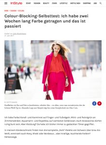 InStyles Fashion Features - Editor Julia Kunkelmann testet Colour Blocking - InStyle - 2017 07 - Alexandra Lapp - found on http://www.instyle.de/fashion/instyles-fashion-features-editor-julia-kunkelmann-testet-colour-blocking