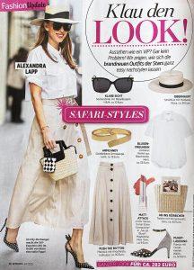 InTouch Germany - No. 27 - 2020 06 25 - Page 36 - Klau den Look - Safari Styles - Alexandra Lapp