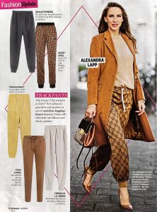 InTouch Germany - No. 44 page 42 - 2020 10 20 - Fashion-Update: Trackpants - Alexandra Lapp