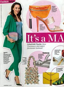 InTouch Germany - No. 22 2019 05 23 Page 46-47 - fashion update - it's a match - Alexandra Lapp