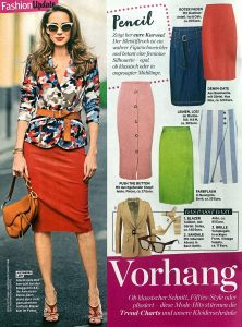 InTouch Germany - No. 23 2019 05 29 - fashion update - Vorhang auf - Alexandra Lapp