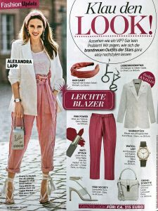 InTouch Germany - No. 25 - 2020 06 11 - Page 34 - Fashion Update - Klau den Look - Alexandra Lapp