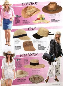 InTouch Germany - No. 29 - 2019 07 11 - Page 45 - Cowboy Cap Fransen - Alexandra Lapp