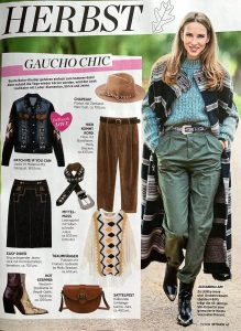 InTouch Germany - No. 37 - 2019 09 05 - Page 47 - Gaucho Chic - Alexandra Lapp